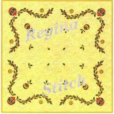 Νο 1408 Ρεγγίνα,ΓΡΑΜΜΙΚΟ ΣΧΕΔΙΟ μπέζ εταμίν με χρυσοκλωστή.  (Επιλέξτε το ύφασμα της αρέσκειά σας : εταμίν λευκή ασημόφως,λευκή ηλιαχτίδα,εκρού ηλιαχτίδα ή μπέζ ηλιαχτίδα. Για εσάς που προτιμάτε τον καμβά επιλέξτε καμβά με χρυσοκλωστή.) Διάσταση Υφάσματος: 90x90 εκ. Διάσταση σχεδίου: 83x83 εκ.Τιμή 25 ευρώ.Γιούλη Μαραβέλη τηλ 2221074152,κιν 6972429269
