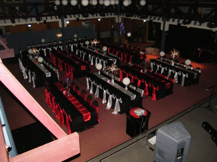 Fire & Ice Formal - by Toowoomba White Wedding and Event Hire - Weddings, Corporate Functions, Parties, Gala Events {Toowoomba & Surrounding Areas}