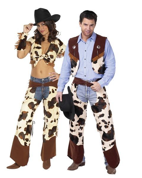 family cowboys and indian costumes for halloween | Cowboy And Cowgirl Costume For Couple - kootation.com