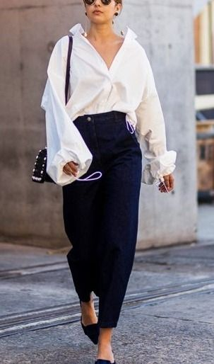 Button down & trouser