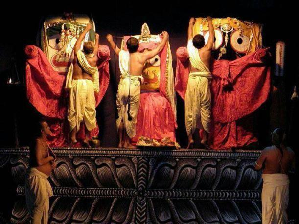 Decoration of Deities, PURI.