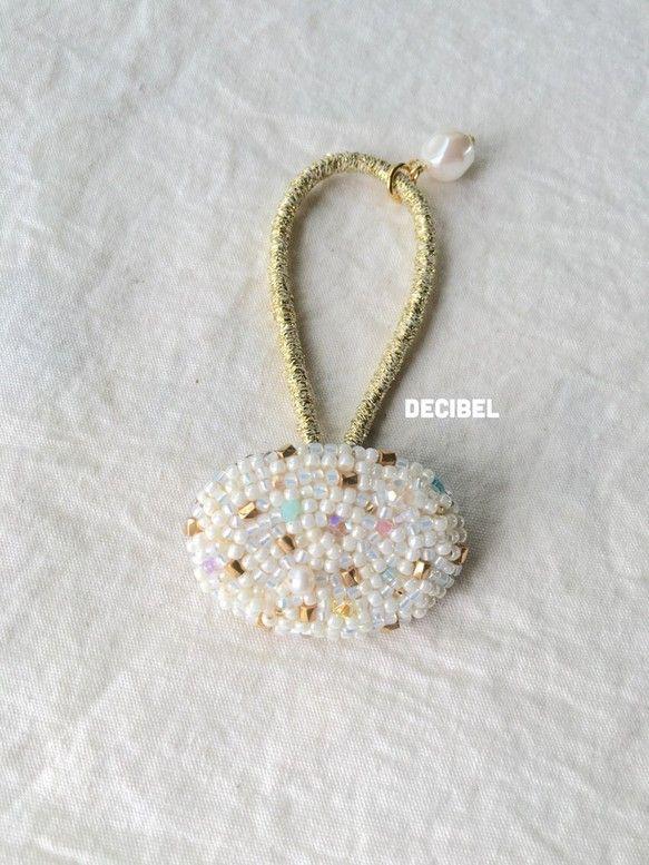 小さな宝石✶ヘアゴム.1|ヘアアクセサリー|DECIBELちゃん|ハンドメイド通販・販売のCreema