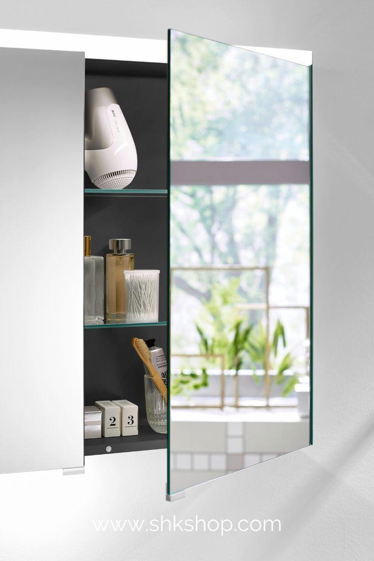 Burgbad Iveo Spiegleschrank Mit Led Beleuchtung In 2020 Badezimmer Inspiration Badezimmer Trends Led Beleuchtung