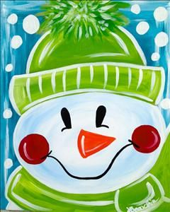 **Winter Kid's Kamp** Let It Snow More - Ferndale, MI Painting Class - Painting with a Twist