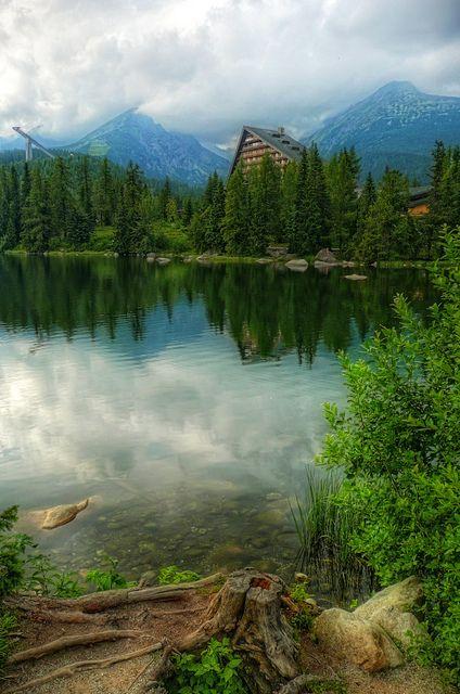 Strbske Pleso in High Tatras, Slovakia