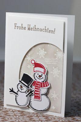 Kreative Träume - Papierkunst & mehr: W.W.W. (oder auch: Weihnachtswohlfühlworkshop mit Stampin Up!)