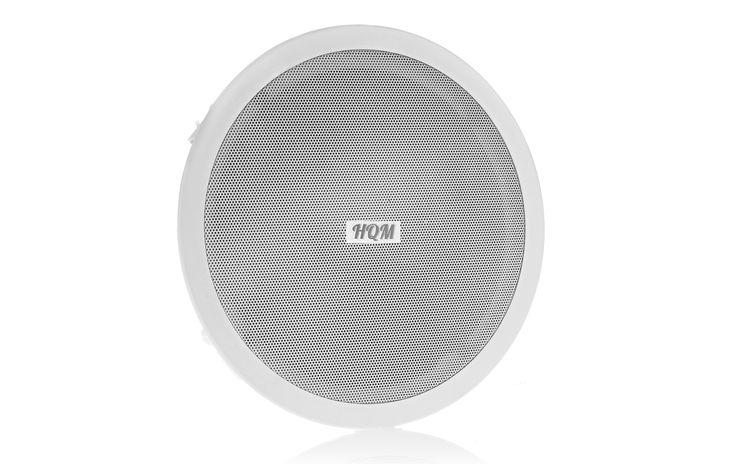 Głośnik sufitowy HQM610SO http://hqm.pl/p-hqm-610so Głośnik sufitowy, okrągły, 20W - 2W/4W/8W/16W / 100V 8Ω, 50Hz - 20kHz 8Ω / 88dB/1W/1m, Głośnik dwudrożny #audio #sound #music #speakers #indoor #ceiling