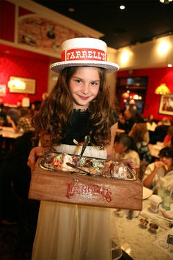 Farrell's ice cream parlor - I loved this place!