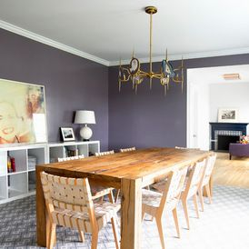 Contemporary Dining Room by Fawn Galli Interiors