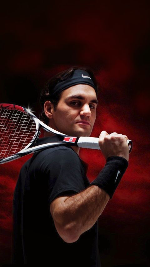Roger Federer Wallpaper For Nokia N9 Based On Nike Ad