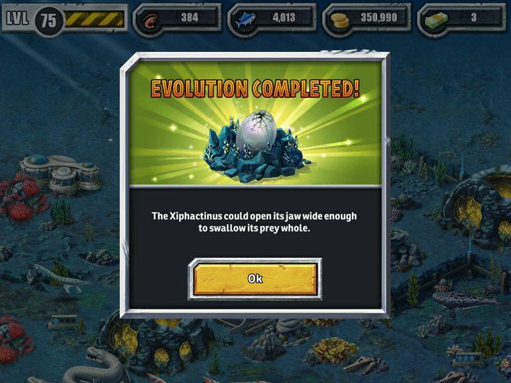 Xiphactinus | Gaming (Mobile) Jurassic Park Builder ...