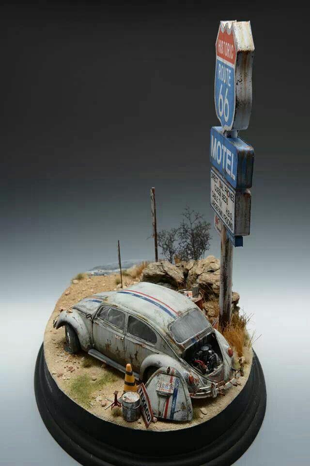 Herbie model display