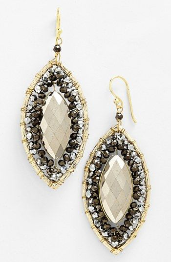 Panacea 'Marquis' Pendant Earrings available at #Nordstrom