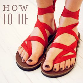 How to Tie Sseko Sandals! Every purchase Educates & Empower Women.