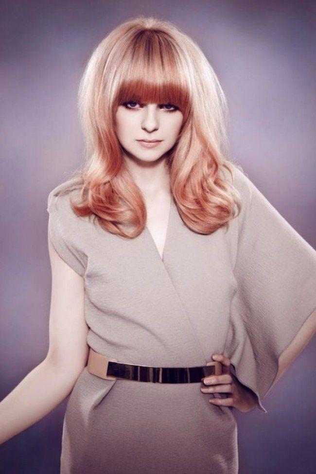 Il #RoseGold è il colore del momento! Se sei bionda, non puoi non provarlo! #HairTrend #Hair