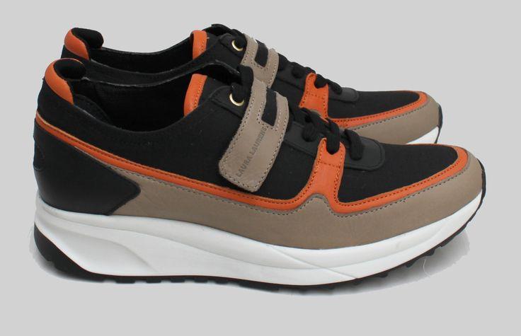 Running Laura Laurens / Black / Orange