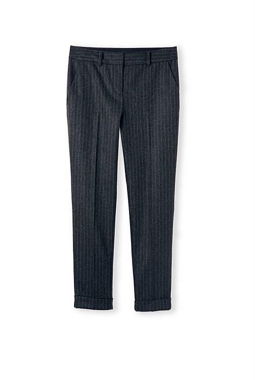 Blurred Pinstripe Pant