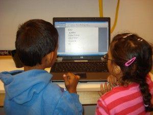 Blogg: Sabinas rubiner  At skriva sig till läsning.