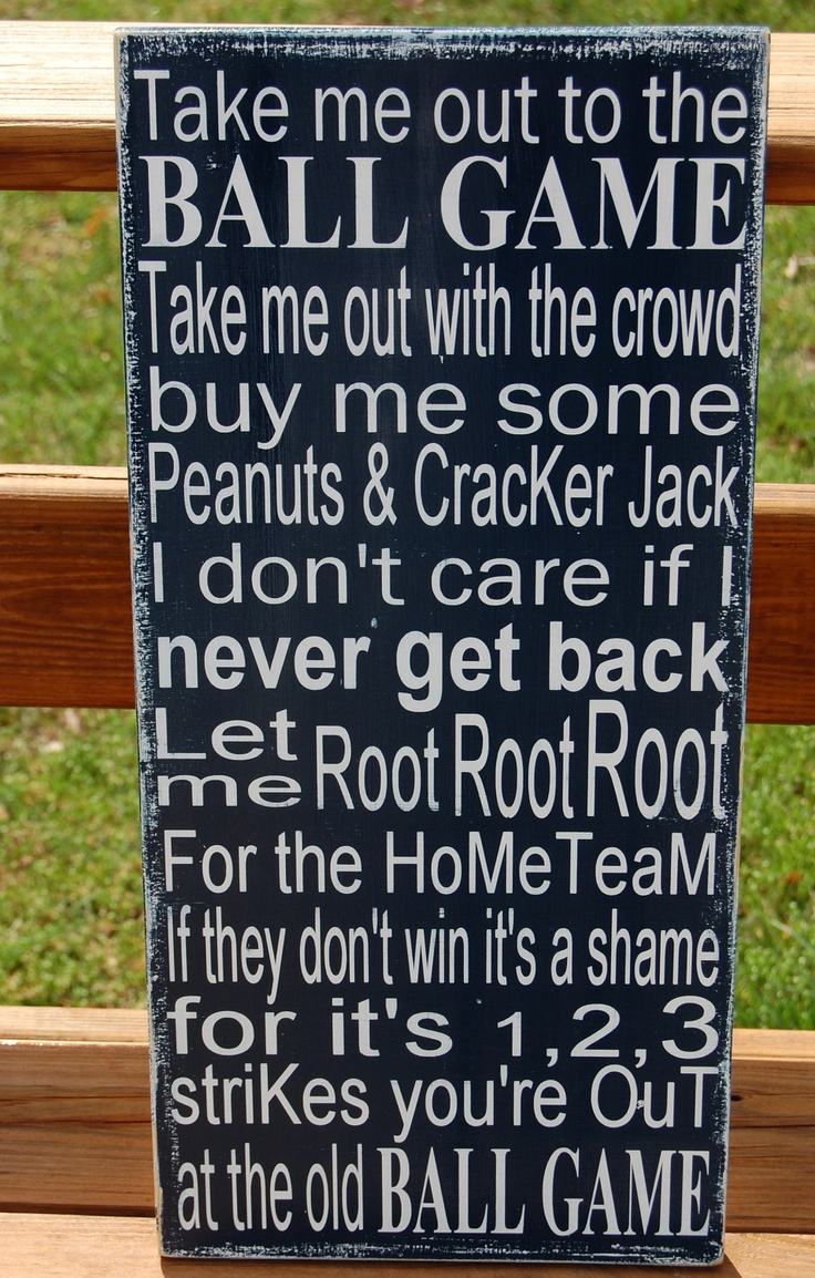 Park Art|My WordPress Blog_Take Me Out To The Ball Game Piano Letters
