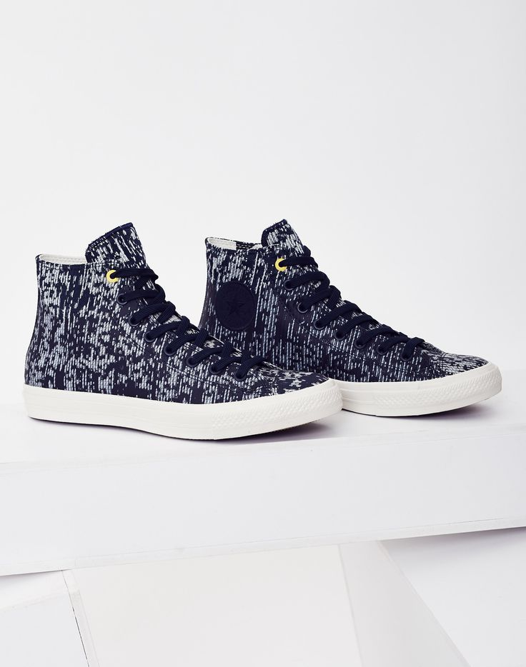 Converse Chuck Taylor All Star II Translucent Rubber in Navy   Shop now at The Idle Man   #StyleMadeEasy