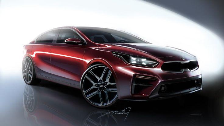 ICYMI: 2019 Kia Forte renderings reveal a sedan with Stinger style