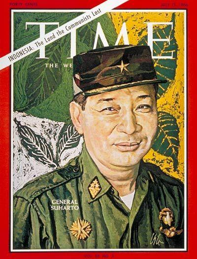 TIME Magazine cover - General Soeharto - July 15, 1966