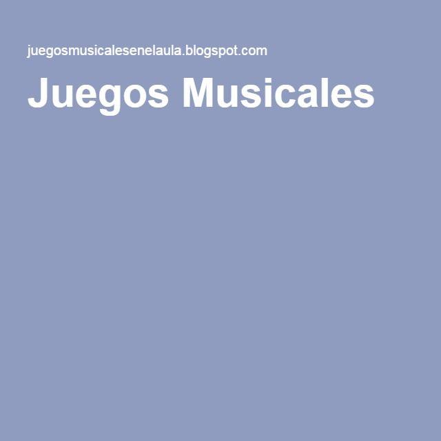 Juegos Musicales