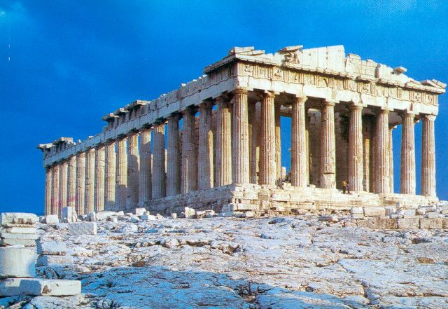 Athens Greece- I think it would be staggering to see the old ruins...