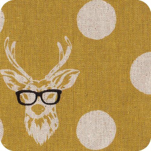 Kokka - Cerf à lunette moutarde