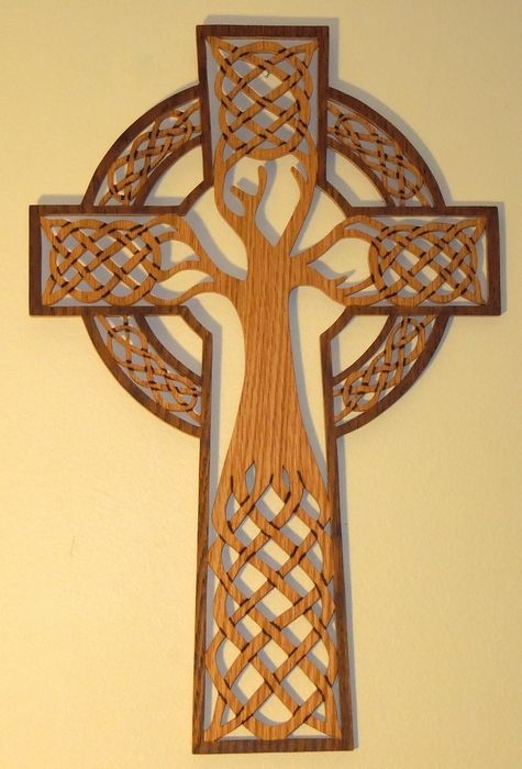 simple celtic cross tree - Google Search                                                                                                                                                                                 More