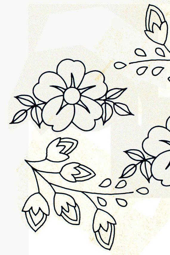 Genuine Vintage 1950s 'Flowers & Sprigs' by TheAtticofKitsch