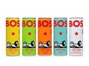 BOS is a range of refreshing organic rooibos ice teas blended with all-natural fruit flavours