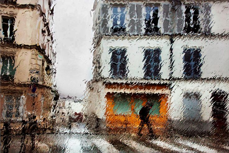 Christophe Jacrot, Brouillée 5, from series Paris in the rain