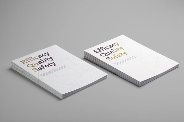 Philab Cosmetics Brochure by Chris Trivizas, via Behance
