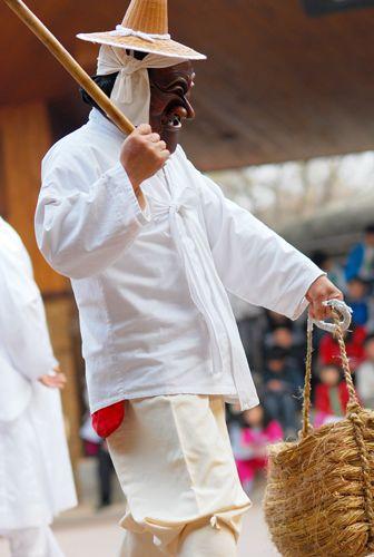 Korean Mask | 탈춤(Korean mask dance) | Flickr - Photo Sharing!