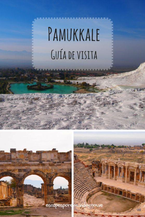 """Explore Pamukkale """"Cotton Castle"""" Turkey"""
