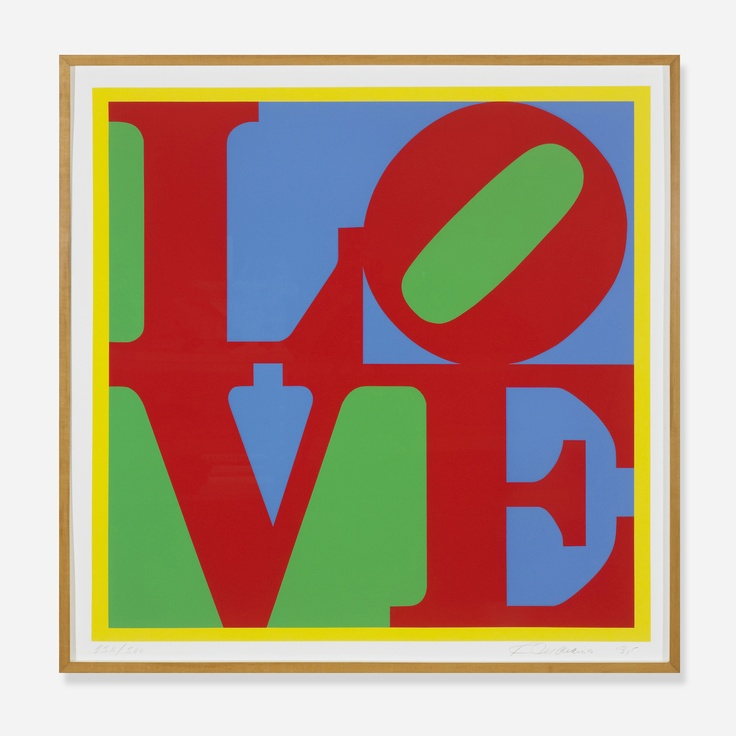 """Robert Indiana discusses the importance of """"Hope"""" and """"Love""""."""