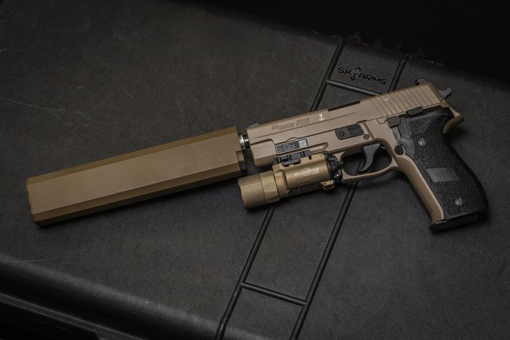 Narphenal Sig Sauer Mk25 With Surefire X300u In Tan