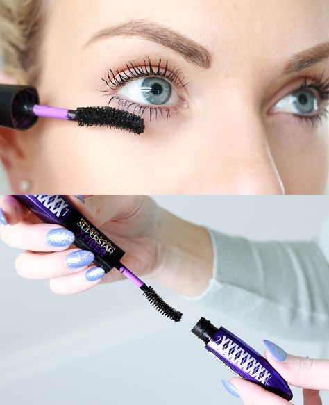L'Oreal Paris False Lash Superstar X Fiber Mascara Review Plus Before And After Photos
