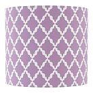 Easy DIY lamp shade with cute fabric and cheap lamp shade