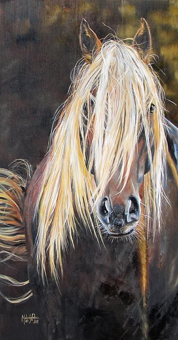 Acrylique - The Feral by Melody Perez - Running Horses Studio