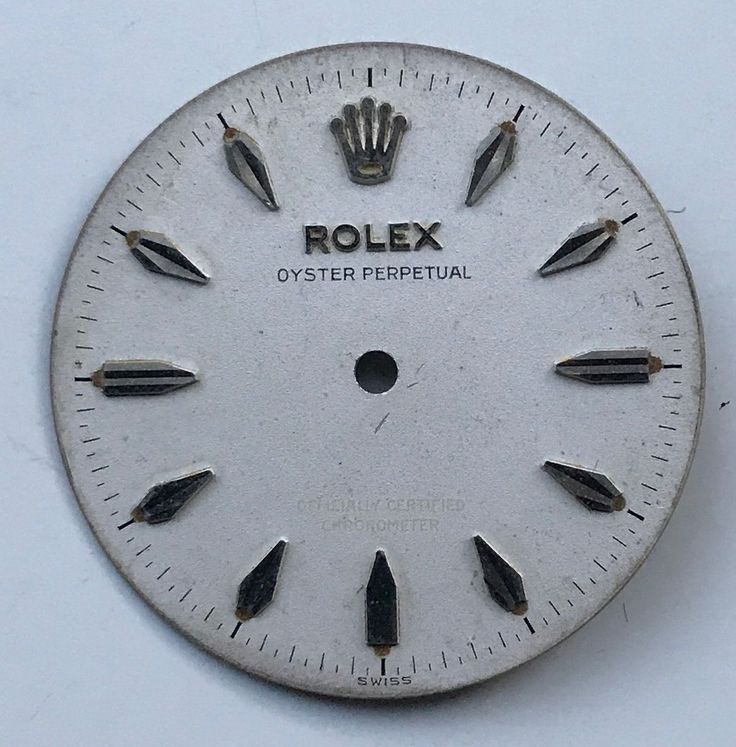 #Forsale Vintage Original #Rolex Steel Oyster Perpetual Dial Only #Auction @$10.00