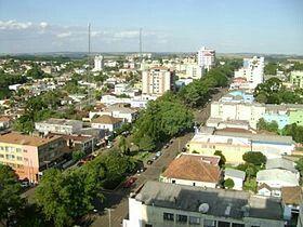 Avenida Afonso Pena. Lagoa Vermelha-RS.
