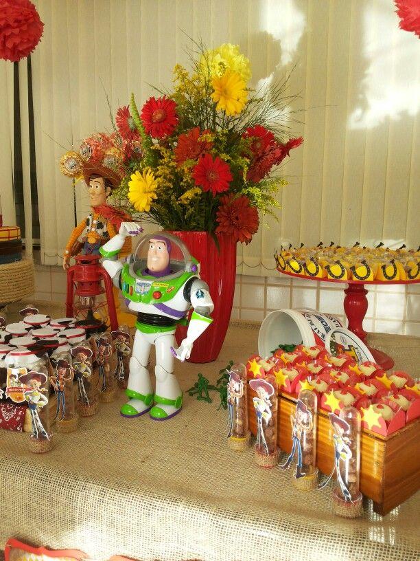 Decoração festa Woody e Jessie ( Toy Story) - Mesa