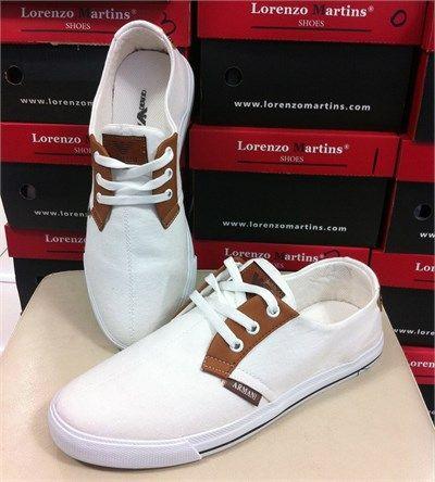 Erkek AJ Armalı Günlük Spor Ayakkabı Beyaz
