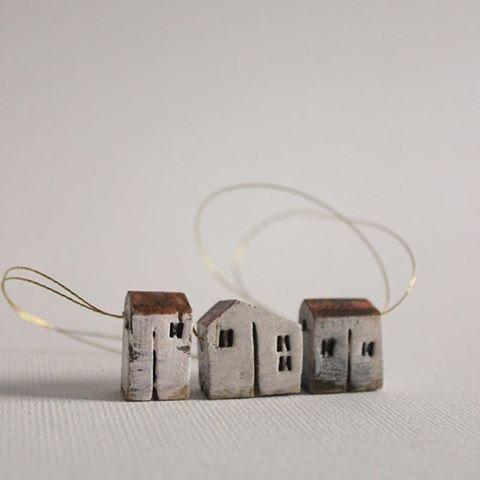 #miniature#clay#houses#oldlook#vesnagusmanclayart#handmade#unique#stoneware#etsy#funny#ceramics#cute#instalike#instafollow#love#art#webstagram