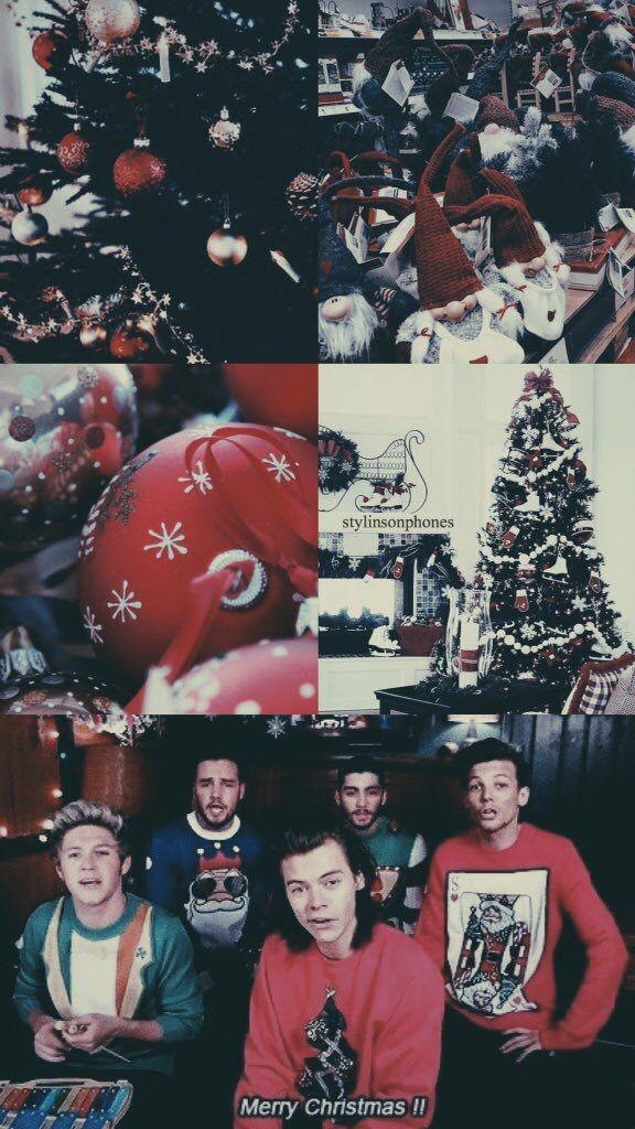 One Direction Winter Lockscreen   ctto: @stylinsonphones