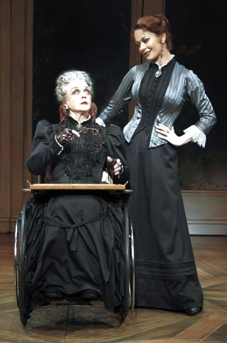"Angela Lansbury and Catherine Zeta-Jones in ""A Little Night Music""-yes I saw this on Broadway nbd"
