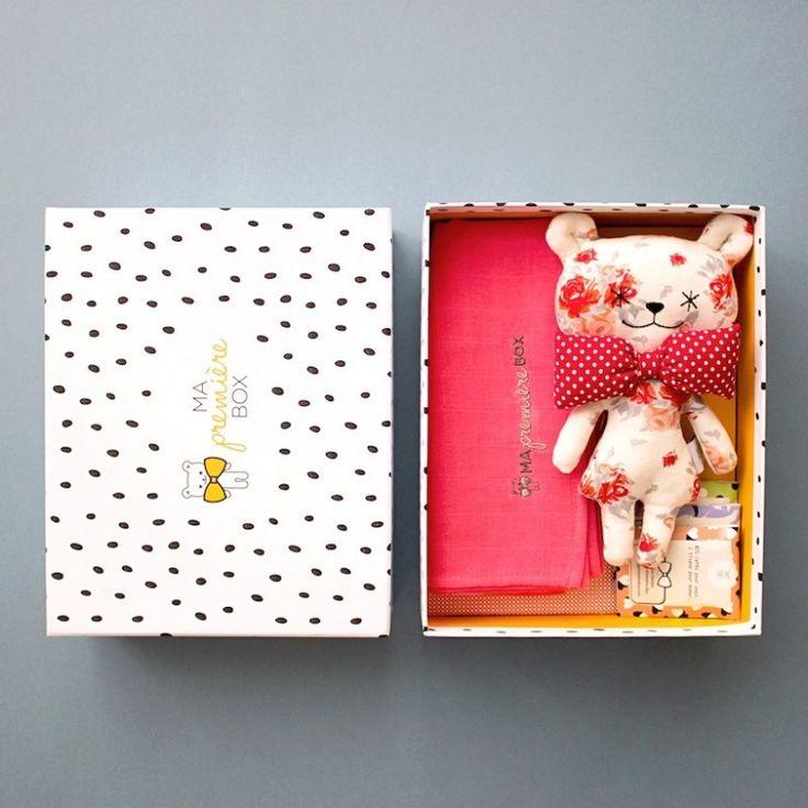 Ma première box - cadeau de naissance http://www.mapremierebox.com/fr/box-fille/grandes-box-fille Grande Box / Fille / Suzanne