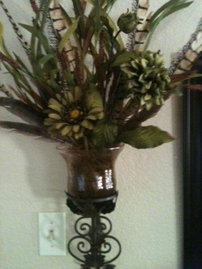 20 best Wall urn images on Pinterest | Silk flowers ... on Decorative Wall Sconces For Flowers Arrangements id=14010